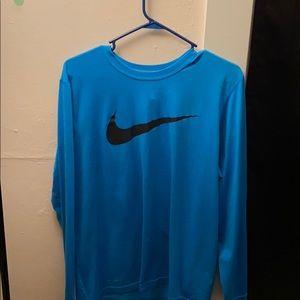 Nike long sleeve tee, dri fit